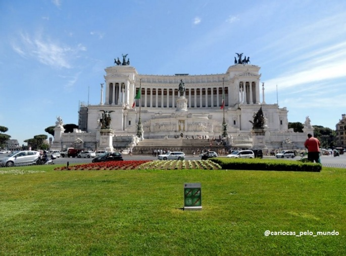 Monumento Vittorio Emanuelle. A